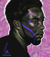 T'Challa by thesimplyLexi