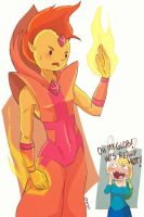 Flame Prince is HOT by Rosana127