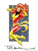 Dark Phoenix by ToddNauck