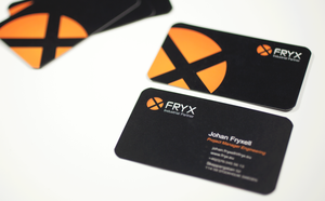 Fryx Industrial Partner - Business cards by vlahall