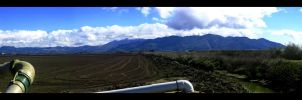 Mts. Panoramic Shot by pilotZ3ro
