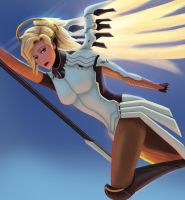 Mercy OW by HKDrawing
