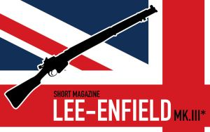Lee-Enfield SMLE Wallpaper by XenolsVectors