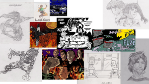 My OOOOLD art!  Most is 2000-2003 by EpicSaveRoom