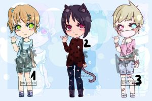 [Closed, thank you!] Adopt Batch 1 ( by Uni-colours