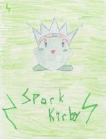Spark Kirby by scaly-green