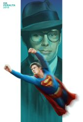 The man of steel (Super - Reeve) by FerPeralta