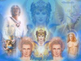 Archangel Michael by Cormael