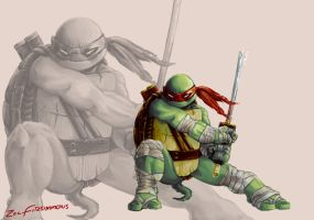 Hamato Leonardo by Backflipsimmons