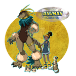 African DigiDestined Power by Berylunee