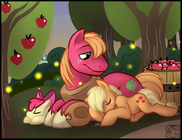 MLP: Siblings-Apple by Sciggles