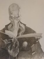 Mind flayer by DiKra