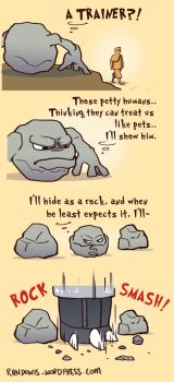Geodude used revenge.. by RandoWis