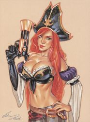 Miss Fortune by Elias-Chatzoudis