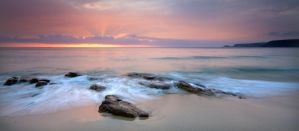 Sennen Shore Line by DL-Photography