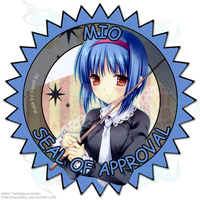 Mio Seal of Approval by SquallEC
