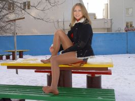 Beautiful Hottie in the Cold 3 by drknyght6