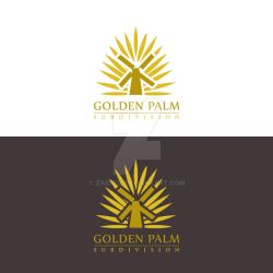 Golden Palm Subdivision Proposed logo1 by zaido12