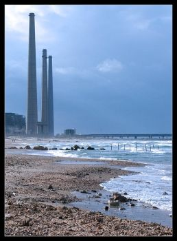 Industrial Beach II by ranmor