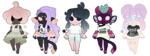 Koninui Adopts | Batch 8 | CLOSED by Cybambie
