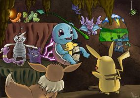 Mystery Dungeon Rescue Mission by frugrow