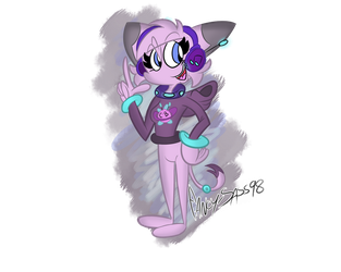 CyberBeat Redesign by Fancy-Toons98