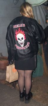 Hell's Princess jacket by donitacurioso