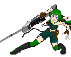 Mion: Freedom Fighter by lady-warrior