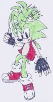 Manic the Hedgehog by manicgirl155