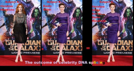 The outcome of celebrity DNA splicing by Attwood3049