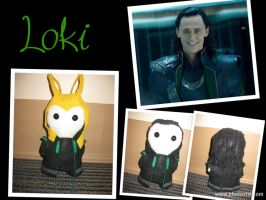 The Trickster: Loki -The Plushies- by calceil