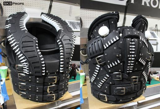Gears of War Theron Guard Cosplay WIP 3 SKS Props by SKSProps