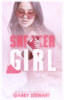 Book Cover 046 - Sneaker Girl by sohappilyart