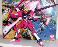 Infinite Justice Gundam MG by The-Vash