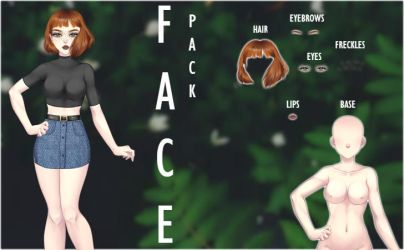 CDM PACK -FACE PACK by Yujanitzy