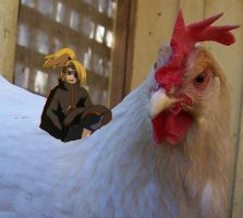 wrong bird deidara :O by SirLeaderPlushie