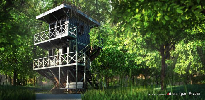 TREEHOUSE . . . by Zorrodesign
