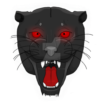 Panther Logo by ToasterLove