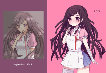 Tsumiki [2014 vs 2017] by pastyllia