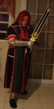 Asch cosplay by InuIrusa-chan