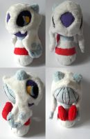 Froslass Mock!Pokedoll by Pannsie