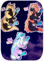 Benjee adopts + one rare by IoneIy