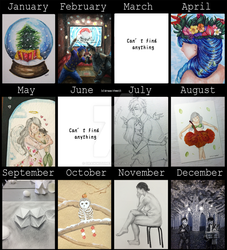 2016 Art Summary by drawwithme15