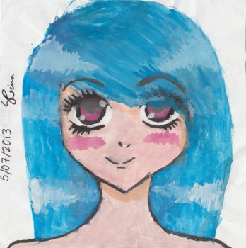 Another watercolour drawing by cronalove