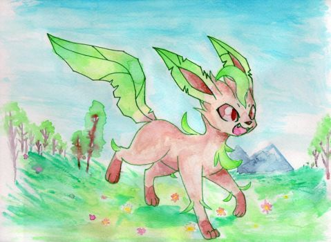 Leafeon by Rachivee