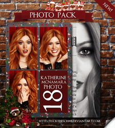 KATHERINE MCNAMARA PHOTO PACK by Fuckthesch00l