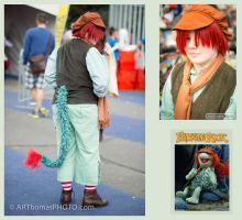 Fraggle Rock - Boober Fraggle cosplay by IscahRambles