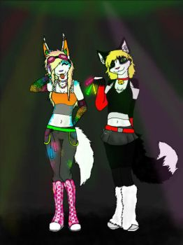 Ravers by lcpatchworkheart