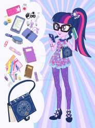Equestria Girls Purse Meme: Twilight Sparkle by SapphireGamgee
