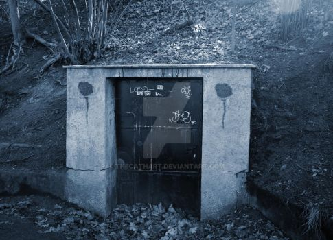Door to underworld by TheCathArt